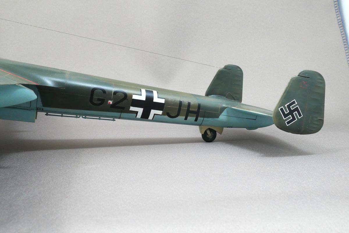 DORNIER Do215B-4 GERMAN RECONNAISSANCE PLANE ICM 1/48 FINISHED WORK