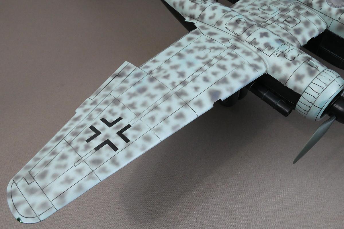 HEINKEL HE219 A-7 UHU TAMIYA 1/48 FINISHED WORK