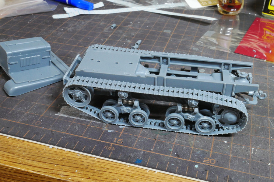 STZ-5 SOVIET ARTILLERY TRACTOR VULCAN SCALE MODELS 1/35 MAKING