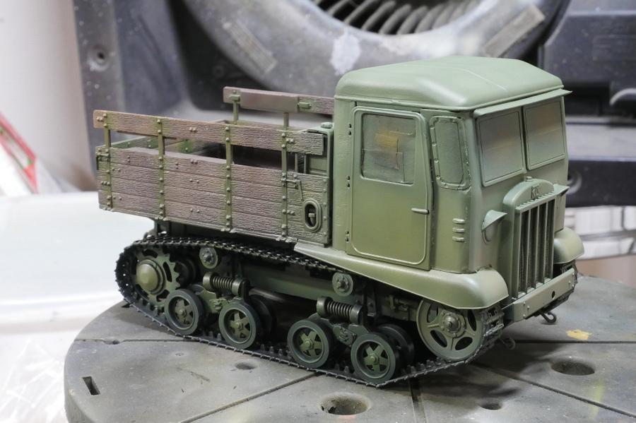 STZ-5 SOVIET ARTILLERY TRACTOR VULCAN SCALE MODELS 1/35 PAINTING