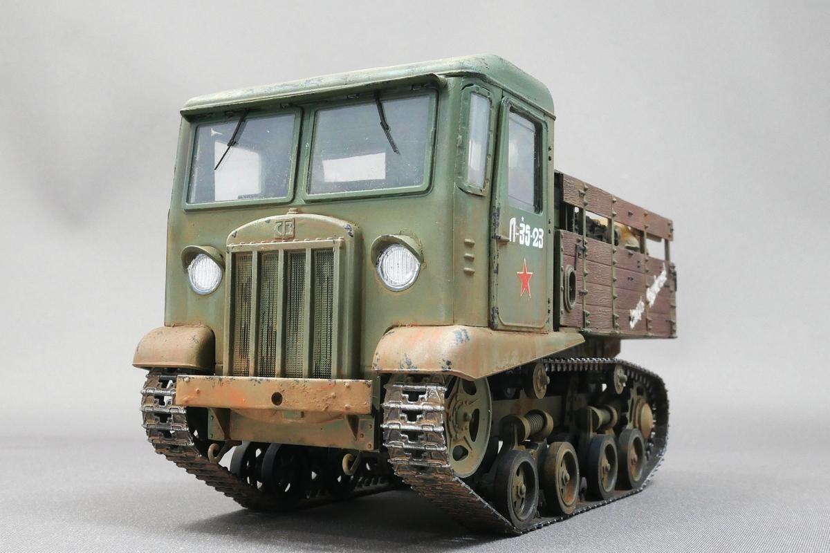STZ-5 SOVIET ARTILLERY TRACTOR VULCAN SCALE MODELS 1/35 FINISHED WORK