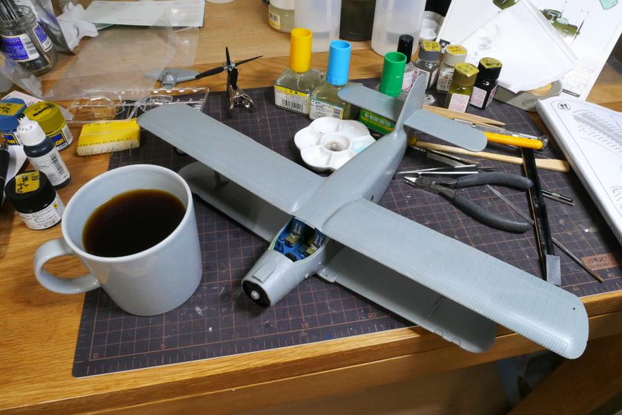 ANTONOV AN-2/AN-2CX COLT 1/48 HOBBY BOSS MAKING