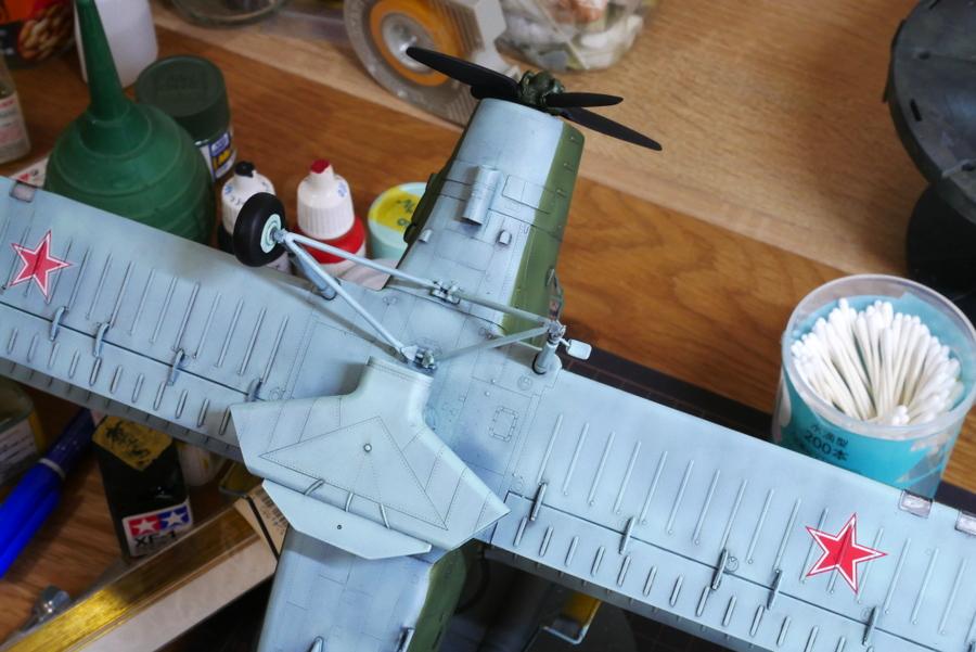 ANTONOV AN-2/AN-2CX COLT 1/48 HOBBY BOSS PAINTING