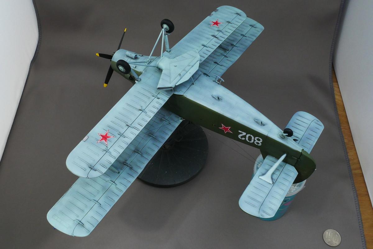 ANTONOV AN-2/AN-2CX COLT 1/48 HOBBY BOSS FINISHED WORK