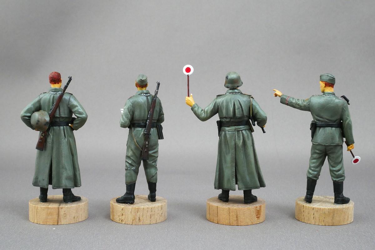 GERMAN FELDGENDARMERIE DRAGON 1/35 FINISHED WORK