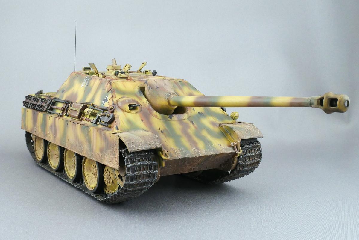 JAGDPANTHER Ausf.G1 Sd.Kfz.173 MENG MODEL 1/35 FINISHED WORK