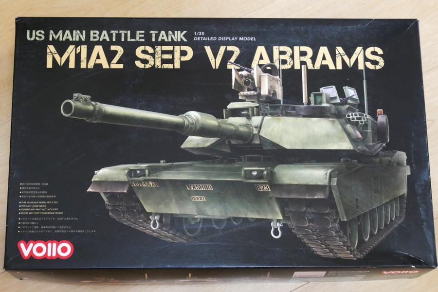 M1A2 SEP V2 ABRAMS VOIIO 1/35 BOX PACKAGE