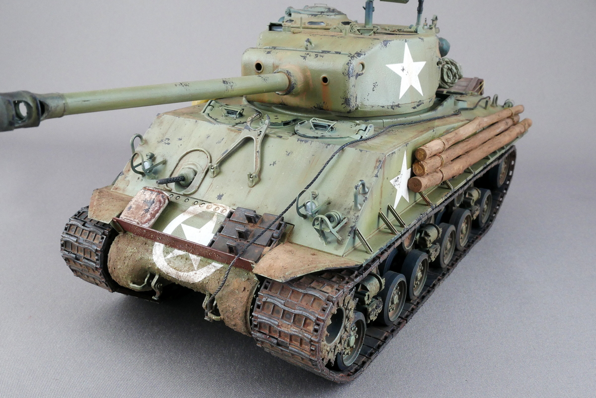 M4A3E8 Sherman Easy Eight Aska 1/35 Finished Work