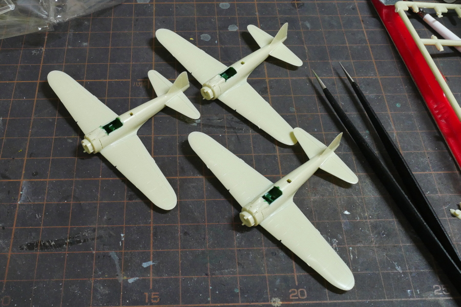 NAKAJIMA A6M2-N Type 2 FLOAT-PLANE FIGHTER IMPERIAL JAPANESE NAVY SWEET 1/144 MAKING