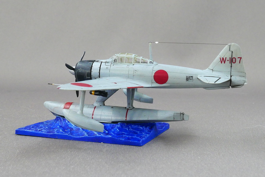NAKAJIMA A6M2-N Type 2 FLOAT-PLANE FIGHTER IMPERIAL JAPANESE NAVY SWEET 1/144 FINISHED WORK