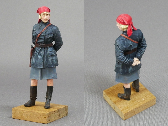 RUSSIAN FEMALE FIGURES, COMINTERN OF THE FORMER SOVIET UNION 1/35
