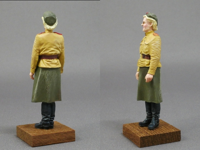 FEMALE SOLDIER OF THE SOVIET ARMY WWII 1/35