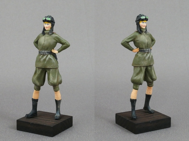 FEMALE TANK CREW OF THE SOVIET ARMY WWII 1/35