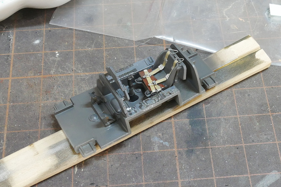 FOCKE-WULF TA152 C-1 HOBBY BOSS 1/48 MAKING