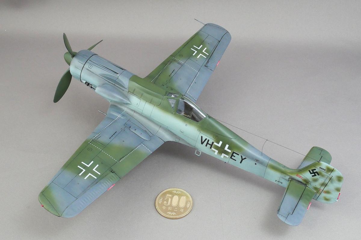 FOCKE-WULF TA152 C-1 HOBBY BOSS 1/48 FINISHED WORK