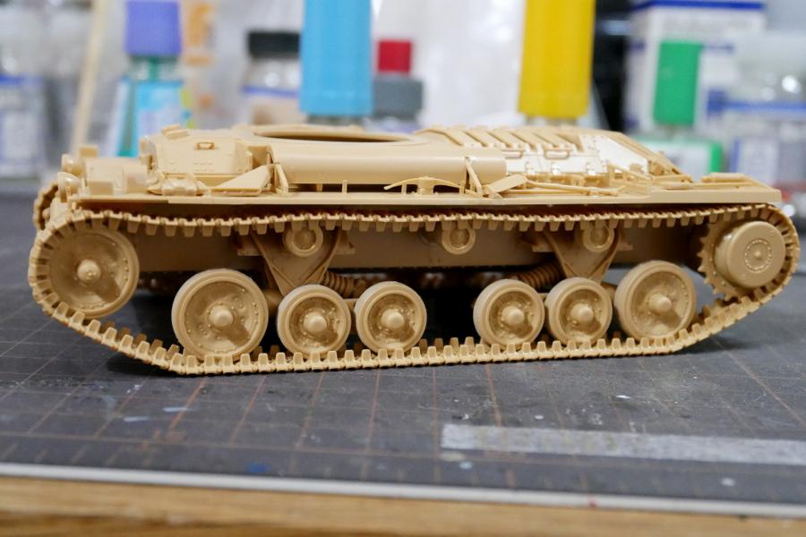 VALENTINE Mk.II/IV BRITISH INFANTRY TANK TAMIYA 1/35 MAKING