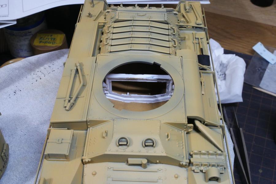 VALENTINE Mk.II/IV BRITISH INFANTRY TANK TAMIYA 1/35 PAINTING
