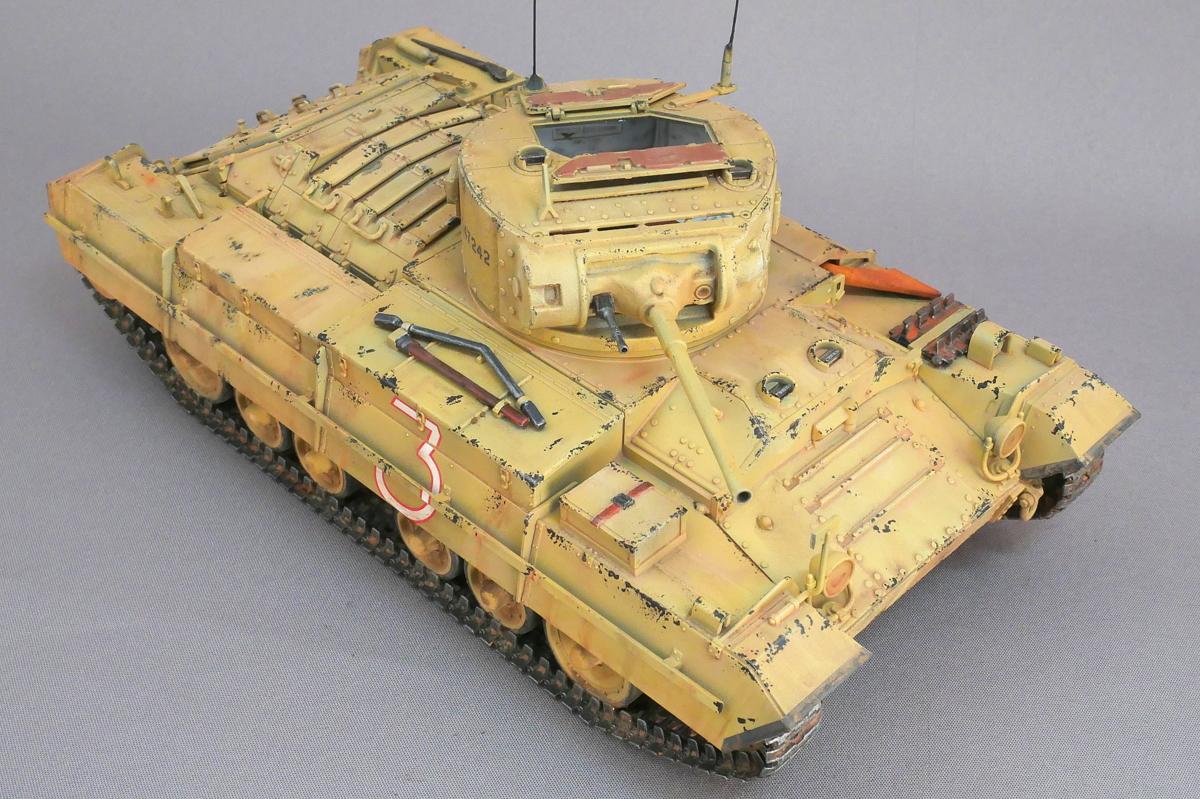 VALENTINE Mk.II/IV BRITISH INFANTRY TANK TAMIYA 1/35 FINISHED WORK