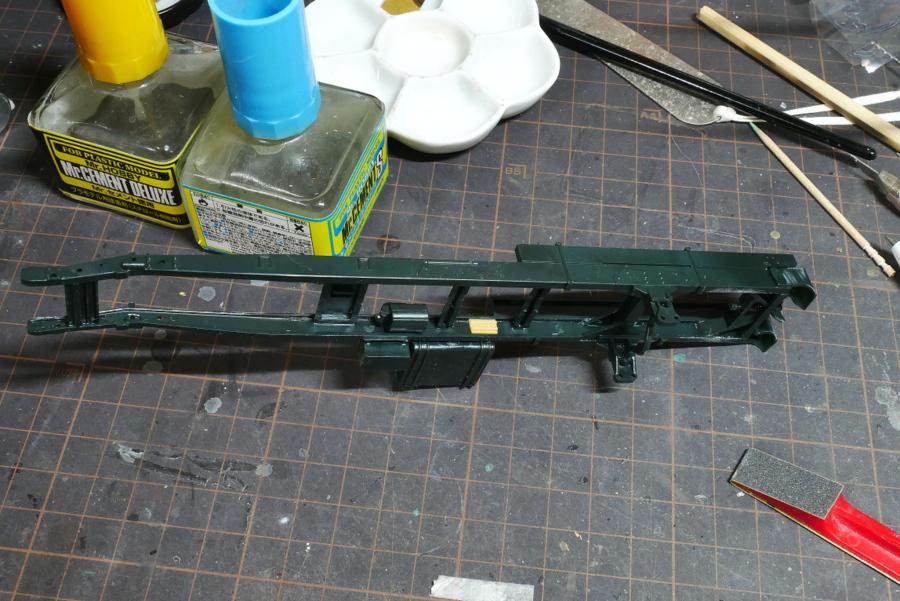 US Army Water Tank Truck Italeri 1/35 Making