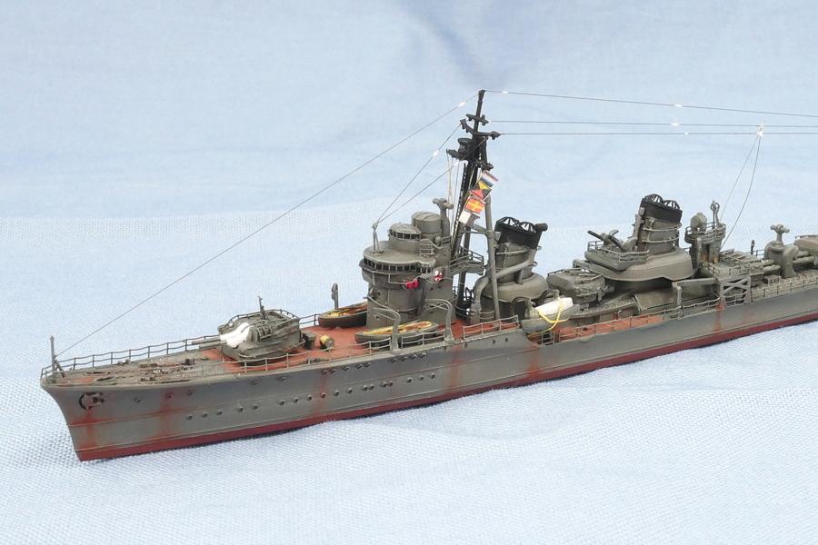 Destroyer Ayanami 1941 Imperial Japanese Navy Yamashita Hobby 1/700 Finished Work