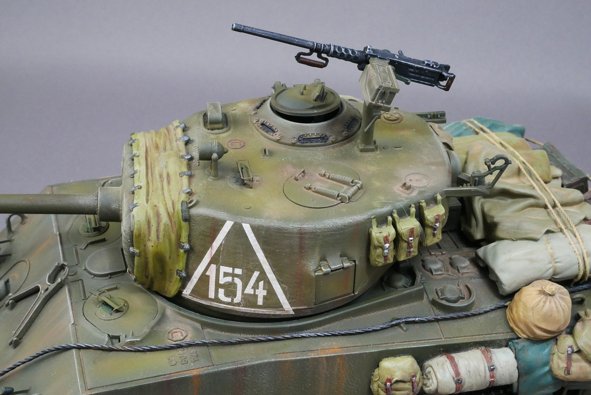 SHERMAN TANK M4A2 (76) RED ARMY DRAGON 1/35 FINISHED WORK