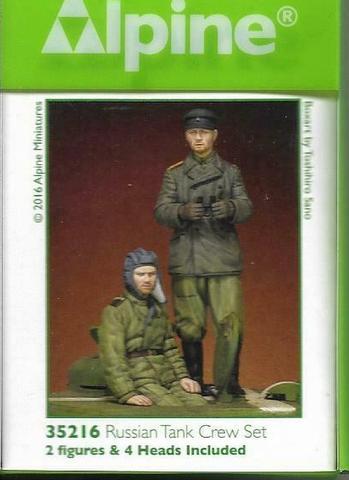 WW2 RUSSIAN TANK CREW SET WINTER ALPINE 1/35