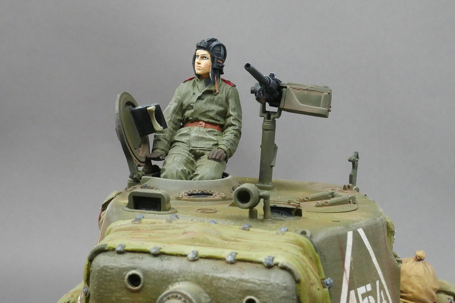 WW2 RUSSIAN TANK CREW SET WINTER ALPINE 1/35 FINISHED WORK