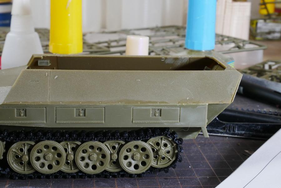 Sd.Kfz.251/9 Ausf.D KANONENWAGEN AFV CLUB 1/35 MAKING