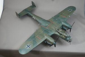 ドルニエ Do215B-4 ドイツ双発偵察機 ICM 1/48 完成写真