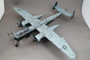 ハインケル He219 A-7 ウーフー タミヤ 1/48 完成写真