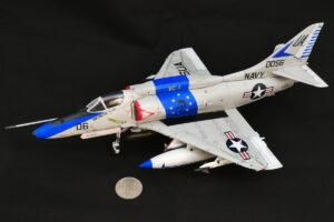 A-4E スカイホーク ホビーボス 1/48 完成写真