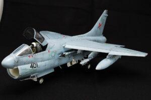 A-7E コルセア2 ハセガワ 1/48 完成写真 ロービジ塗装