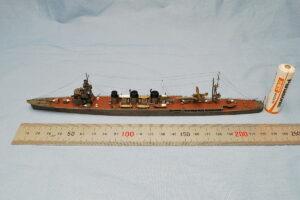 軽巡洋艦阿武隈 タミヤ 1/700 完成写真 初心者でも組み立てやすい