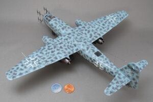 アラド Ar234B-2 ナハティガル 偵察機 ハセガワ 1/48 完成写真