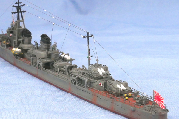 特型駆逐艦II型 綾波 1941年 ヤマシタホビー 1/700 完成写真