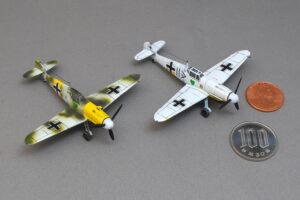 メッサーシュミット Bf109 F-4 冬季迷彩 スウィート 1/144 完成写真