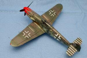 メッサーシュミット Bf-109K-4 アカデミー 1/48 グラーフ中佐機