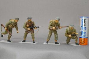 イギリス軍歩兵 ドラゴン 1/35 組立と塗装・製作記・完成写真