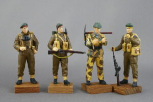 イギリス コマンド部隊兵士 マスターボックス 1/35 完成写真
