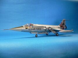 F-104C ハセガワ 1/48 完成写真