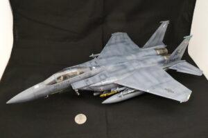 F-15E ストライクイーグル レベル 1/48 完成写真