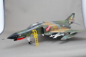 F-4E ファントムII ハセガワ 1/48 完成作品 Spunky VI