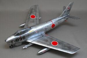 F-86F-40 セイバー 航空自衛隊 ハセガワ 1/48 完成写真