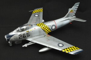F-86F 台湾空軍 ハセガワ 1/48 米国よりF-86Fを供与され320機以上を運用