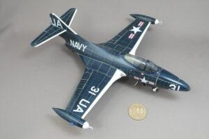 グラマン F9F-2P パンサー偵察型 トランペッター 1/48 完成写真