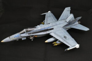 F/A-18C ホーネット ハセガワ 1/48 完成写真