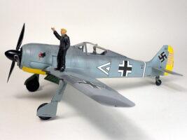 フォッケウルフ Fw190A-3 ハセガワ 完成写真
