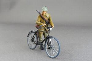 フランス歩兵 軍用自転車 マスターボックス 1/35 完成写真