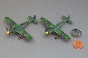 フォッケウルフ Fw190D-9 JV44プラッツ 1/144 完成写真