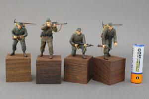 ドイツ山岳猟兵 ドラゴン 1/35 組立と塗装・製作記・完成写真